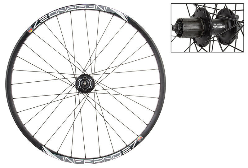WM Wheel Trasero 27.5 584x23 Sol Inferno-27 32 Bk M475 8-10scas 135mm Dti2.0bk