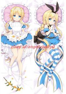Sword Art Online Dakimakura Alice Schuberg Anime Hugging Body Pillow Case Cover