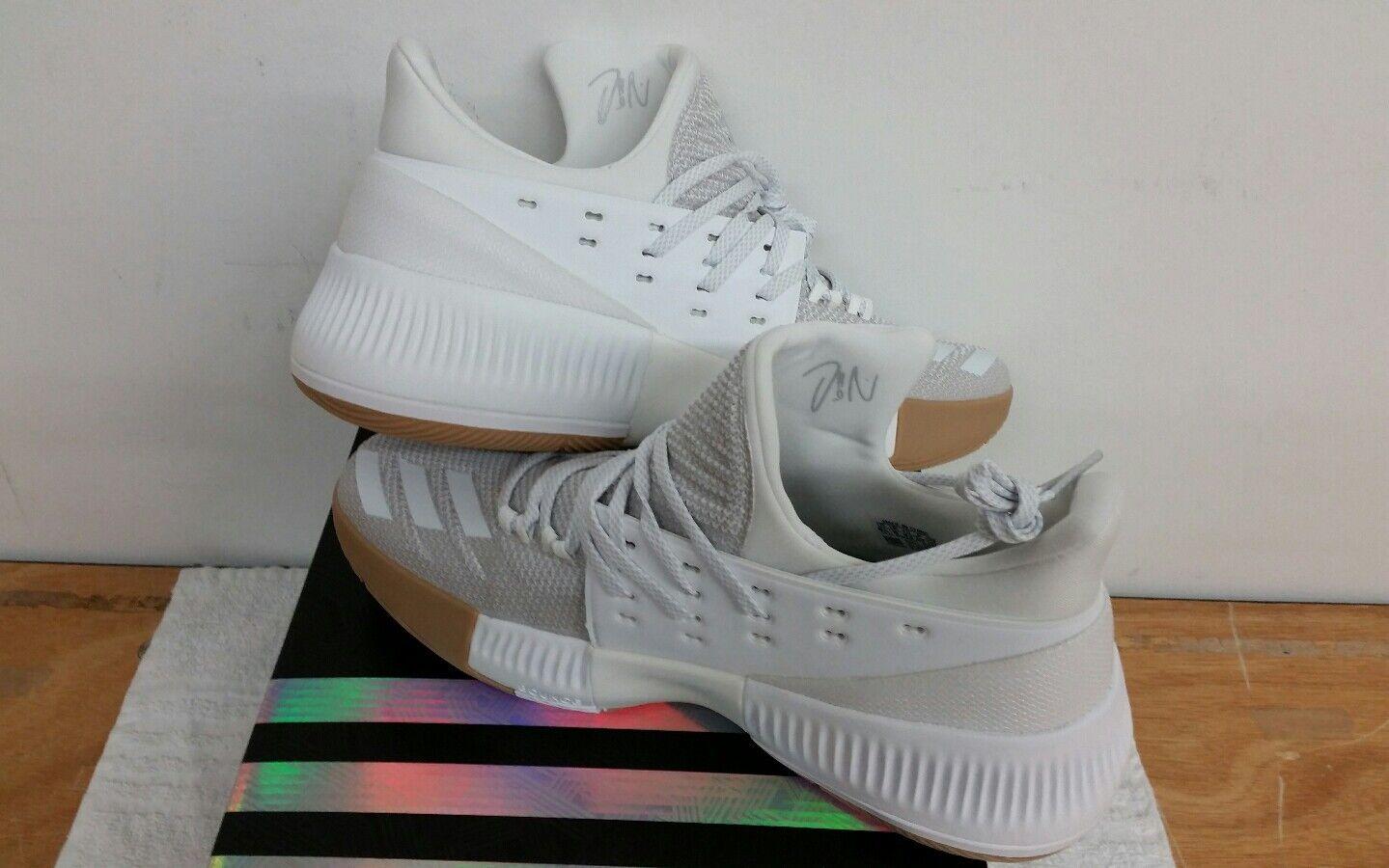 Adidas D Lillard 3 DAME Basketball Shoes 2018 - NEW - Size 9 BW0323