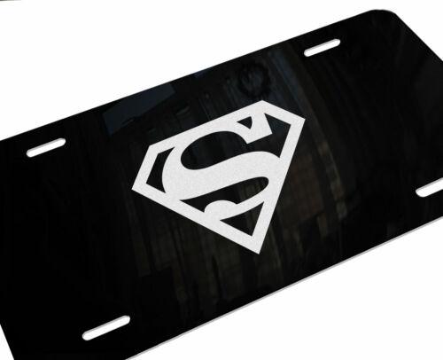 SUPERMAN SUPER MAN HOPE Laser Etched Aluminum Car Truck Vanity License Plate B