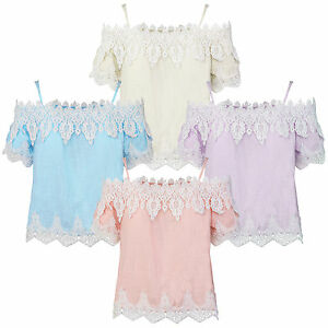 Elegante-Women-Tunika-Round-Collar-Lace-Top-Blouse-Lace-Blouse-Top-D-319