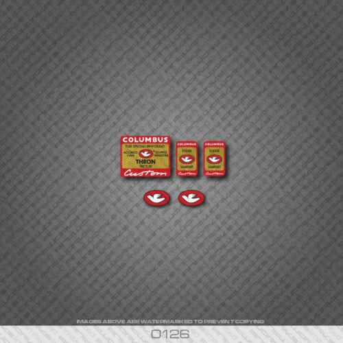 0126 Columbus Thron Custom Bicycle Stickers Decals