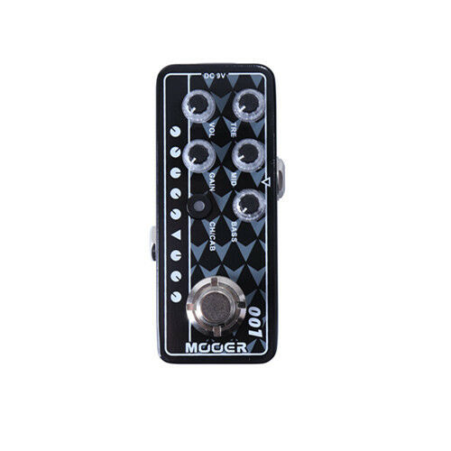 New Mooer Gas Station 001 Digital Micro PreAmp Guitar Effects Pedal