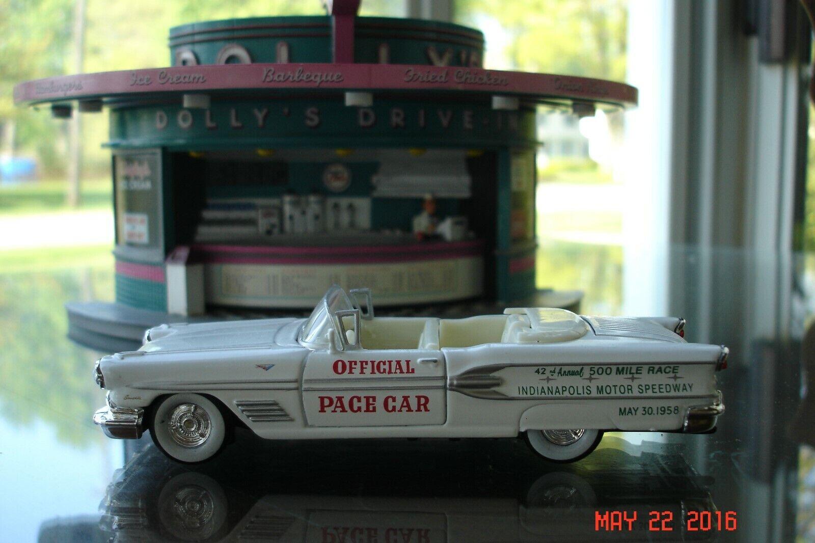 1958 Pontiac Bonneville, Indianapolis 500 Pace Coche, de 1 43, nueva sin abrir