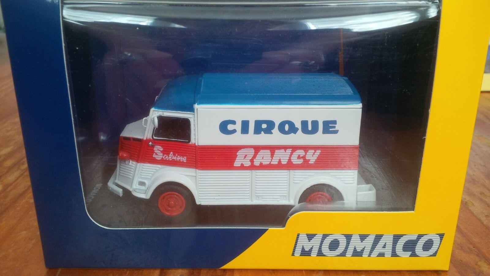 CITROEN TYPE H HY CIRQUE SABINE RANCY ELIGOR MOMACO 1 43 BOITE promotionnel