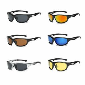 Occhiali-Da-Sole-Polarizzati-Anti-UV-400-Per-Uomo-Donna-Sport-Autista-Ciclismo