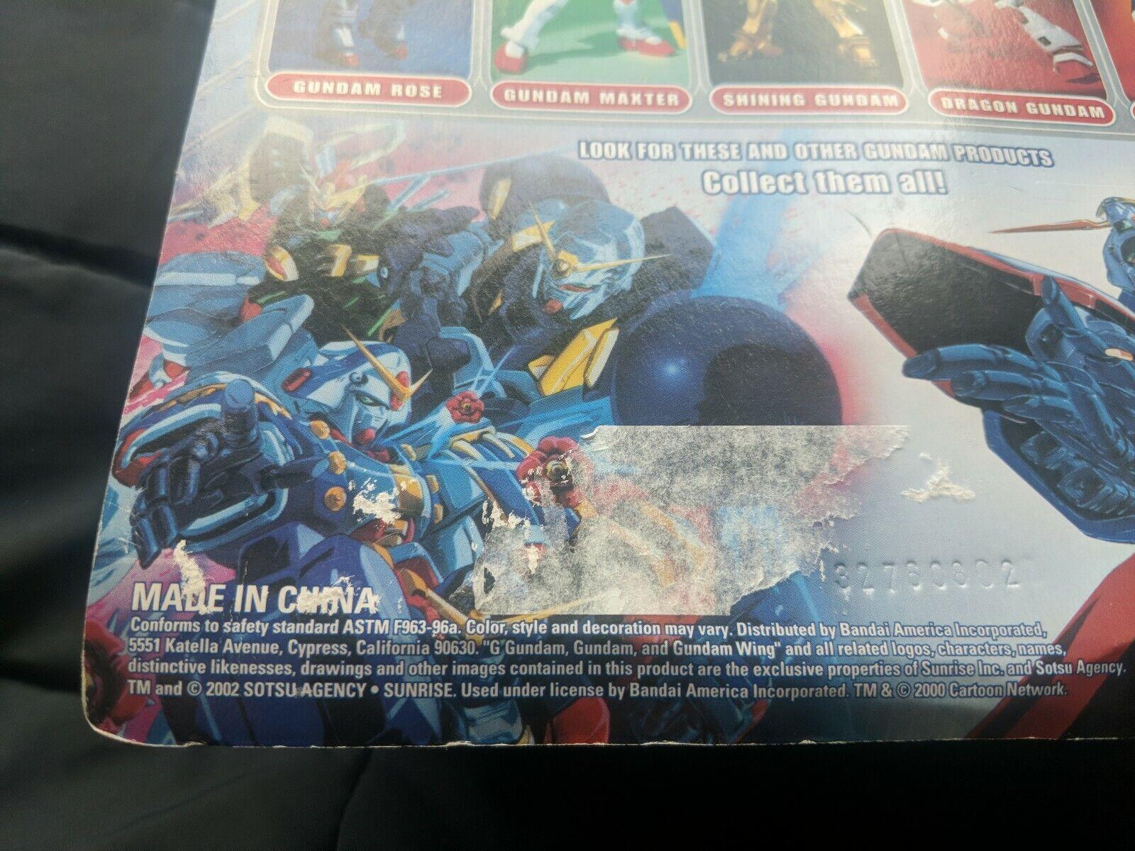 Bandai G Gundam Gundam Gundam Mobile Fighter Noble Gundam Action Figure MOC SEALED NEW f57c3a