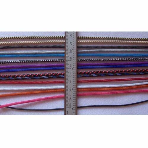 1m 2m 5m 10m Meterware Geflechtschlauch Gewebeschlauch Kabelschlauch Kabelschutz