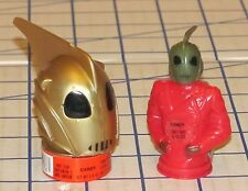 Lot of 2 Different Disney Topps The Rocketeer Movie Candy Containers 1991 M