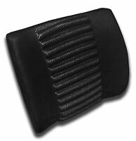 Black Lumbar Support Cushion Pillow Chair Comfort Car Office Travel Relief - 1pc