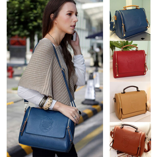 Women Lady Bag Handbag Shoulder Bags Satchel Tote Purse Leather Hobo Bag