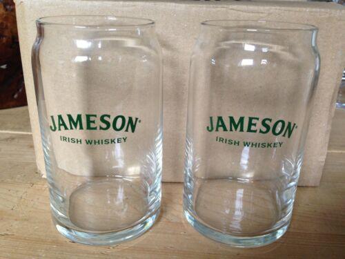 Jameson Irish Whiskey Glasses X 2 Brand New