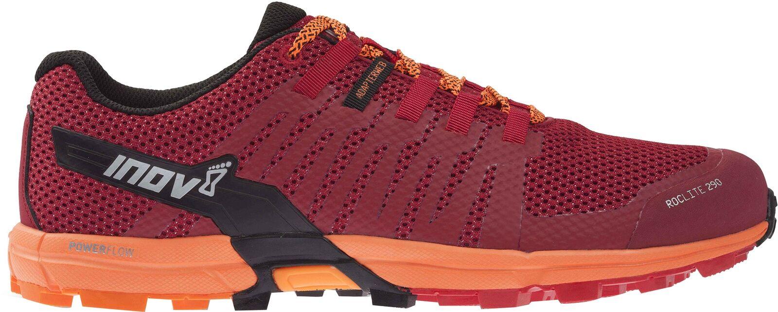 Inov 8 Roclite 290 Hombre Trail Running Zapatos-Rojo