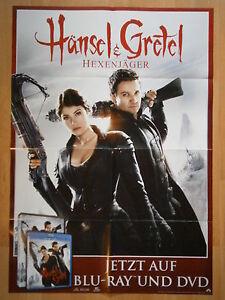 """Filmposter """"Hänsel und Gretel - Hexenjäger"""" - NEU! - Erlangen, Deutschland - Filmposter """"Hänsel und Gretel - Hexenjäger"""" - NEU! - Erlangen, Deutschland"""