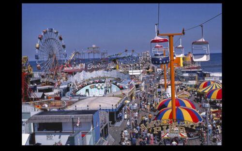 Vintage Amusement Park PHOTO Jersey Shore Boardwalk Beach Circus circa /'78 NJ