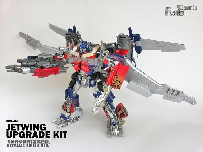 FWI-4M Metallic Finish Ver Ver Ver JetWing Upgrade Kit Transformers Leader Optimus Prime 7969eb
