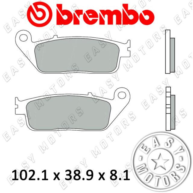 07074.XS PAR PASTILLA DE FRENO BREMBO DELANTERO HONDA SH I ABS 300 16>