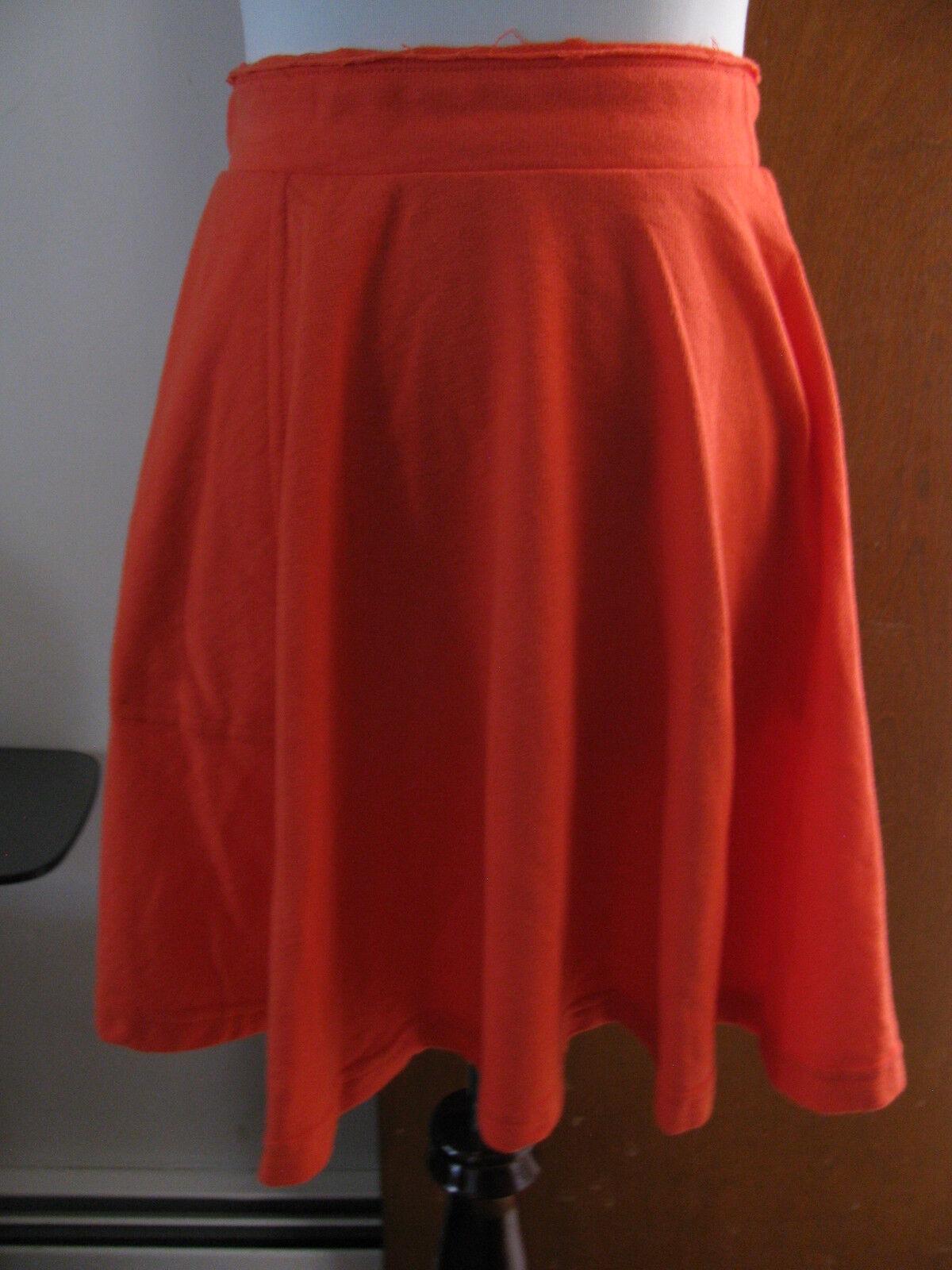 Free People damen rot A-line skirt Größe large NWT