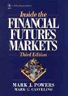 Inside the Financial Futures Markets by David J. Vogel, Mark Powers, Mark G. Castelino (Hardback, 1991)