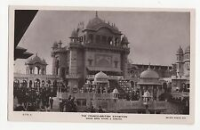 Franco British Exhibition, Grand Band Stand & Cascade Rotary RP Postcard, A562