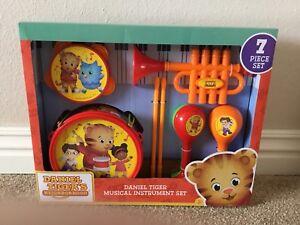 Details about Pbs Kids Daniel Tiger's Neighborhood Musical Instruments Set  New!