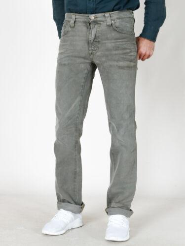 Uomo Dritto Pantaloni w31 Taglio Nudie W28 Jim Sporco Jeans Slim Look 7RpddwyqO