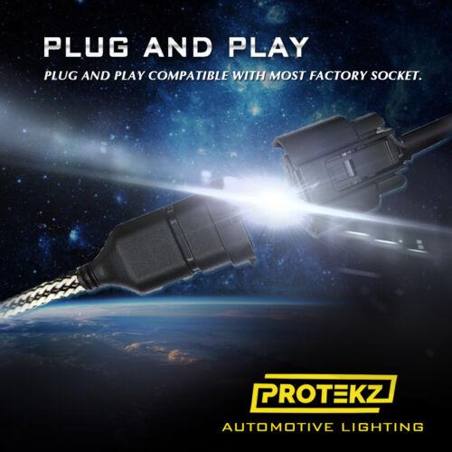 LED Fog Light Protekz Kit H8 6000K CREE for 2006-2012 Infiniti FX35
