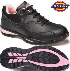 WOMENS-DICKIES-LIGHTWEIGHT-LADIES-SAFETY-WORK-BOOT-STEEL-TOE-CAP-SHOE-TRAINER-SZ