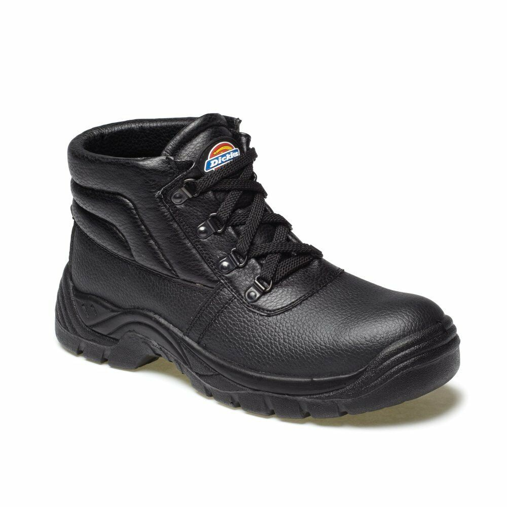 Dickies FA23330 Redland Super Safety Chukka Work Boots FA23330 Dickies Black Steel Toe Cap 64e59b