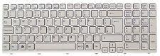 New Sony VaioSVE1511A1EWSVE1511C5E SVE1511F1EW White UK Keyboard149032911