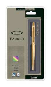 Parker Classic Gold GT Ball Pen Free Shipping