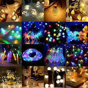 10-50Led-Solar-Battery-Power-Fairy-Light-String-Lamp-Party-Xmas-Garden-Outdoor