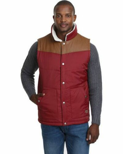 Mens Smith /& Jones Iota Padded Lined Gillet Sleeveless Coat Body Warmer Jacket