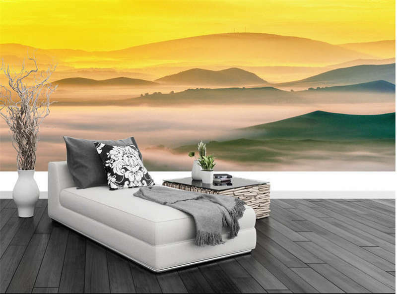 Unclear Bright Light 3D Full Wall Mural Photo Wallpaper Printing Home Kids Decor