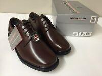Nunn Bush Mens Dress Shoes Eddy Brown Oxfords 84153-200 Free Shipping