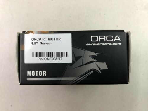 ORCA R32 SPEED CONTROL +PROGRAM CARD RT BRUSHLESS MOTOR 8.5T w//o fan and wire