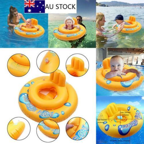 Gonflable Baby Infant Kids Siège Aide Piscine Float Tube Ring Swim trainer