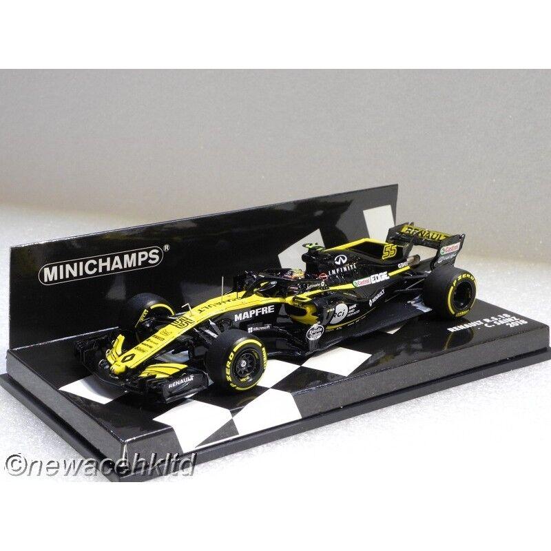 Renault R.S.18 Formula One Season MINICHAMPS MODEL 1 43