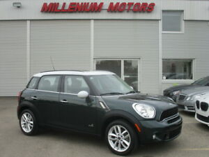 2014 MINI Cooper S Countryman COUNTRYMAN S ALL4 AWD / LEATHER / PANORAMIC ROOF