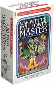 Z-MAN GAMES NEW SEALED WAR WITH THE EVIL POWER MASTER ADVENTURE GAME AGE 10
