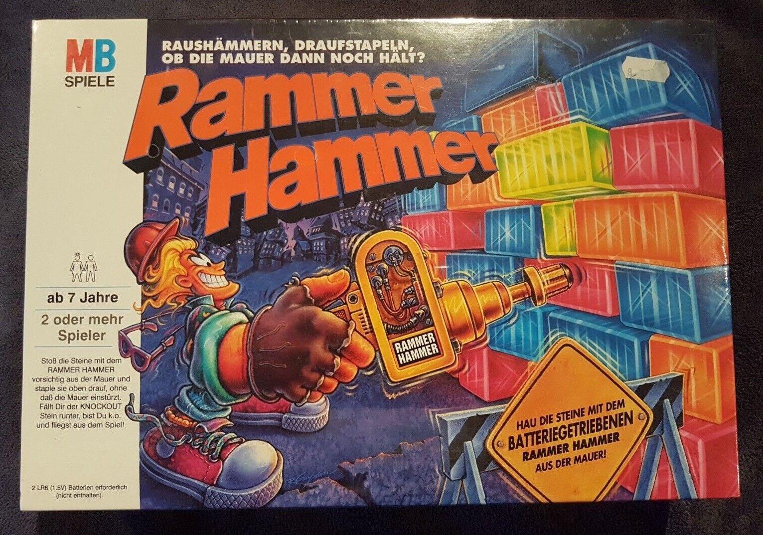 Rammer Hammer von MB in Folie