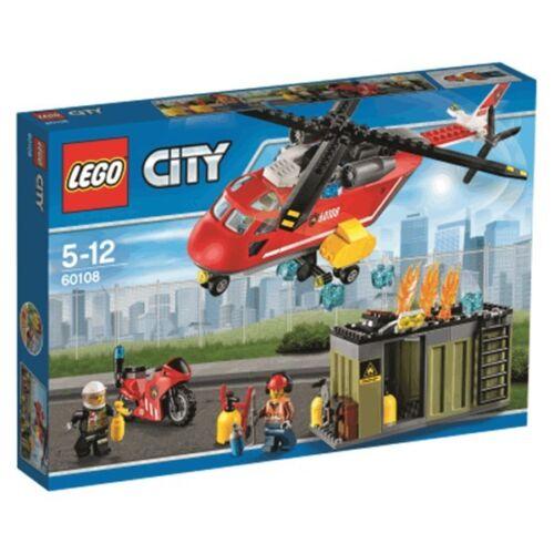 l/'unité de secours des Pompiers NEUF scellé Lego City 60108