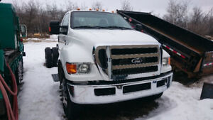 2013 (2014) Ford F650 cab and chassis truck