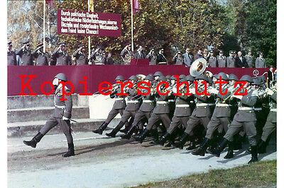 J54 Wachregiment Feliks Dzierzynski MfS NVA Musikzug DDR Foto 20x30 cm