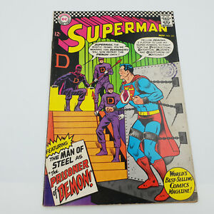 Superman-191-Silver-Age-DC-Comics-Jim-Shooter-VF