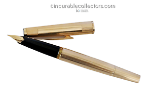 RARE-Montblanc-Meisterstuck-N-1276-SOLID-585-GOLD-Fountain-Pen-1970-s