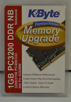 Kbyte Memory Upgrade 1gb Pc 3200 Ddr Nb Notebook