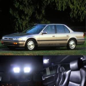10x 6000k white led light interior bulb package for honda - Honda accord interior light bulb replacement ...