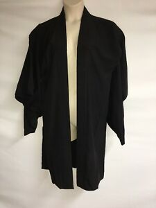 Vintage-Japanese-Kimono-From-Japan-Black