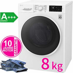 LG 8 kg Direktantrieb Waschmaschine Frontlader Aqua Stop 1400 UpM NFC A+++ NEU